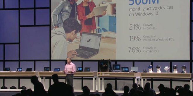 Microsoft lanzará el 17 de octubre la cuarta gran actualización de Windows 10. Windows 10 Fall Creators Update