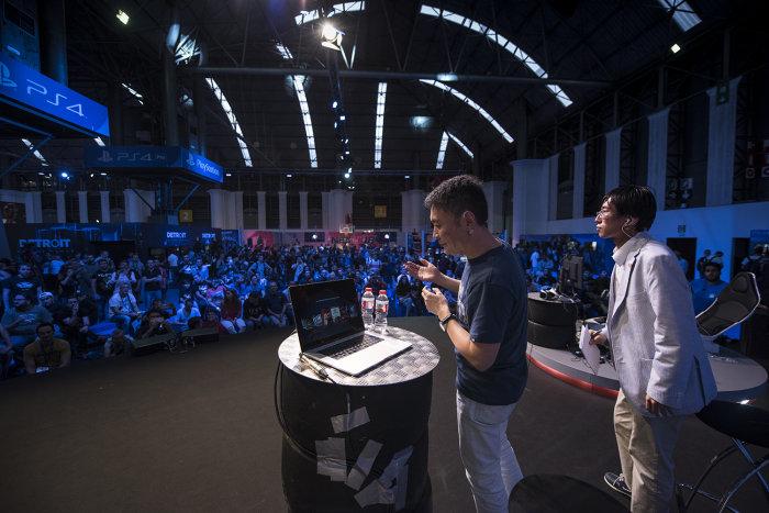 Kazunori Yamauchi contagia su pasión por el motor a toda Barcelona Games World. Grand Turismo Sport