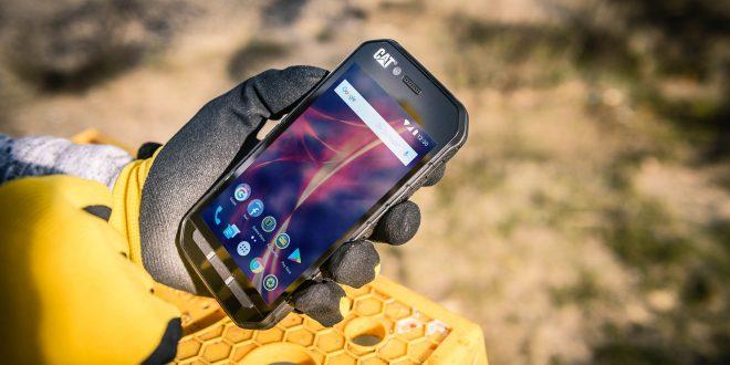 Se presentan en España los teléfonos resistentes Cat S31 y Cat S41 de Cat Phones