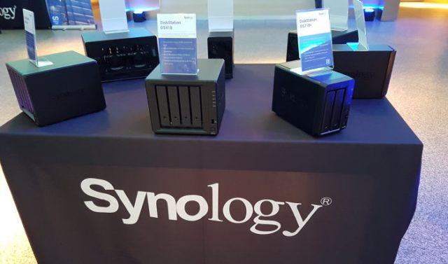 Synology 2018 presentación en el Santiago Bernabéu.
