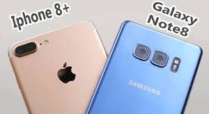 Comparativa iPhone 8 Plus vs Samung Galaxy Note 8