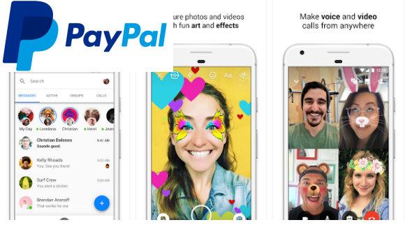 Facebook Messenger permite utilizar PayPal para hacer transferencias entre usuarios.