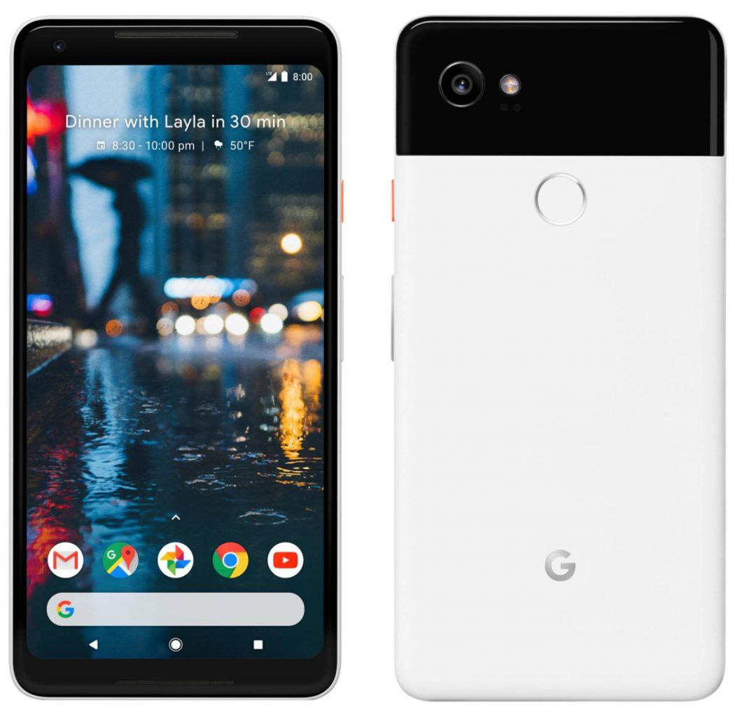 Google Pixel 2 y Google Pixel 2 XL Evan Blass da la exclusiva