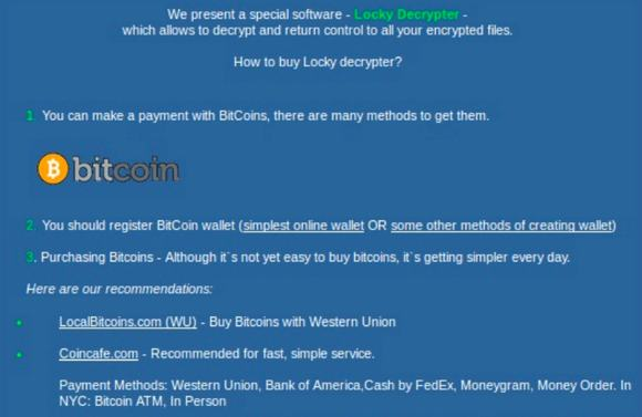 ¿Cómo eliminar elransomware Locky?El ransomware Locky infecta al 11,5% de las empresas en todo el mundo durante septiembre