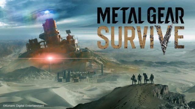 Metal Gear Survive saldrá a la venta el 22 de febrero de 2018 para PS4, Xbox One y PC
