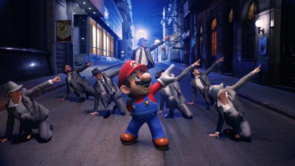 Super Mario Odyssey Nintendo presenta: Jump Up, Super Star! El vídeo musical de Super Mario Odyssey