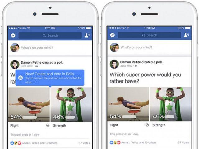 ¿Cómo usar las nuevas encuestas de Facebook? Facebook lanza una nueva herramienta de encuestas con GIF y fotos.