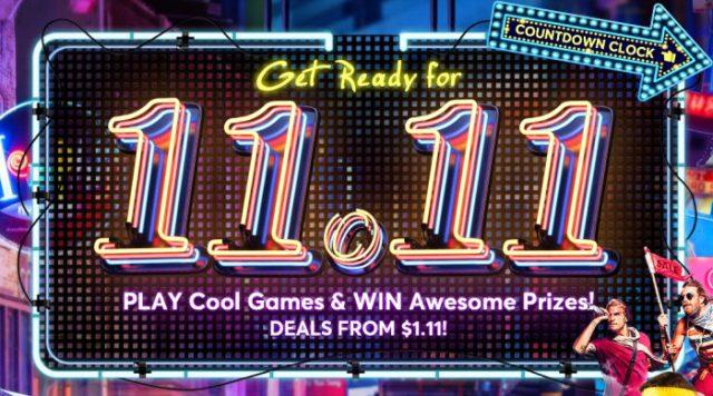 ¿Preparado para el 11.11? ¡Allá vamos!