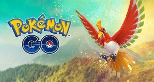 Pokémon GO permitirá capturar al legendario Ho-Oh en incursiones hasta el 12 de diciembre