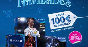 PlayStationlanza una nueva oleada de ofertas navideñas.A partir de hoy podrán adquirirse todos los packs de consola PlayStation 4 1TB con 50€ de descuento.La compañía pondrá también más de 800 títulos en promoción dentro de PlayStation Store.