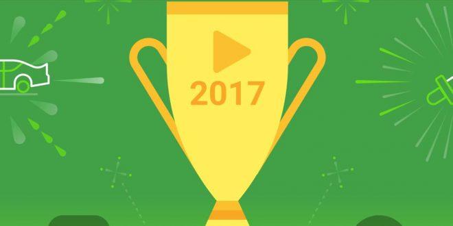 Las mejores apps del 2017 según Google