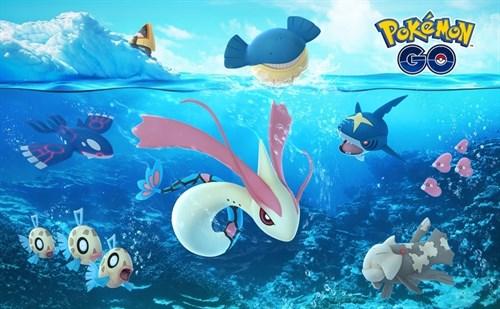 Celebración de Navidad en Pokémon Go