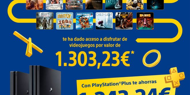 PlayStation hace balance de su servicio PlayStation Plus