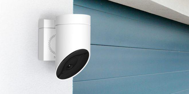 Somfy presenta en CES Las Vegas 2018 su nueva cámara de seguridad que ha sidogalardonada con el premio CES Innovation Award 2018