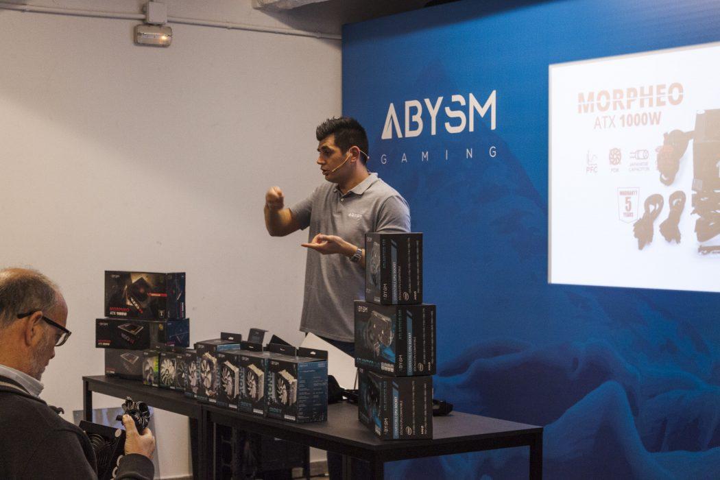 ABYSM Gaming, la marca americana de hardware más transparente llega a España