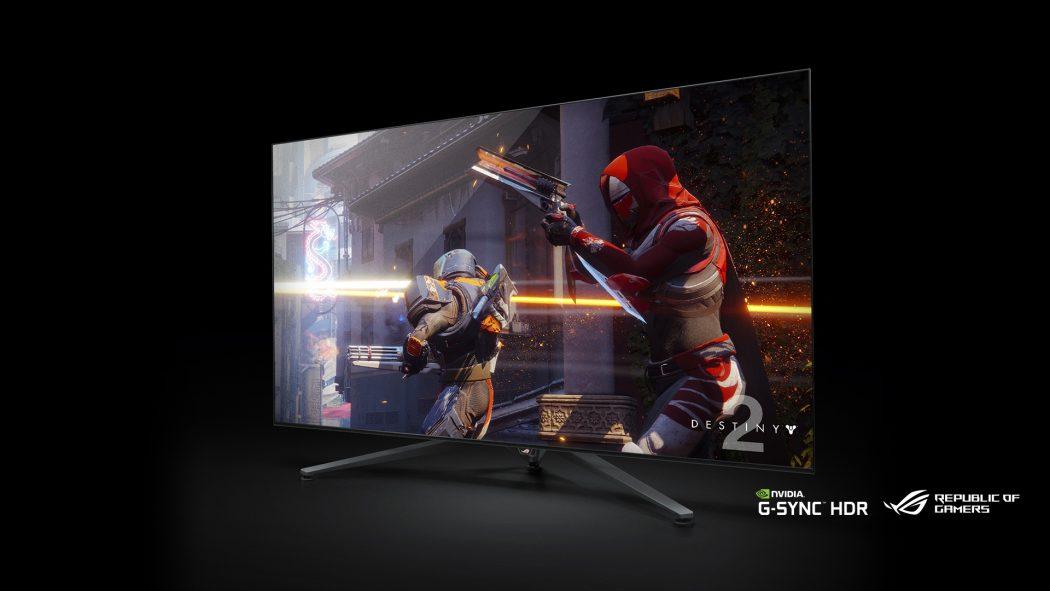 CES 2018: NVIDIA vuelve a Android TV con un monitor de 65 pulgadas, 4K, 120Hz y juego en streaming con Asus