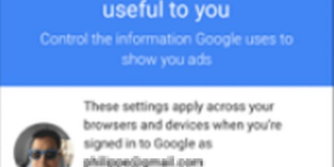 Google da mayor control al usuario para que regule la publicidad que recibe
