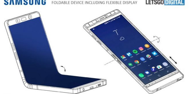Samsung Galaxy X de pantalla plegable, ¿El anti iPhone definitivo?