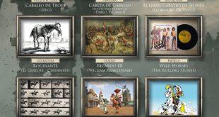 #ElVideojuegoEsArte Los caballos mas iconicos del mundo del arte según PlayStation