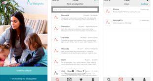 La nueva aplicación de Babysits: Ahora es más fácil y seguro encontrar niñeras desde tu teléfono