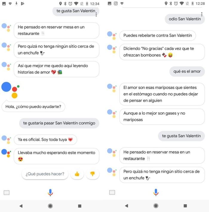 Con amor, de tu Asistente de Google.Google Assistant aprende del amor para celebrar San Valentín. Tu relación con el asistente virtual está a punto de cambiar en 2018.