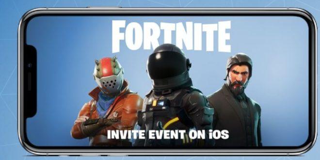 Battle Royale de Fortnite llega a móviles iOS. Para Android llegará dentro de unos meses