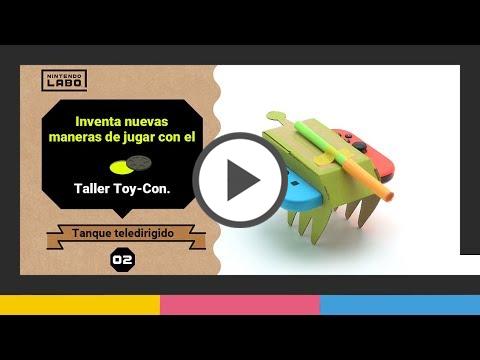 Nintendo Labo en el segundo vídeo de la serie sobre el taller Toy-Con