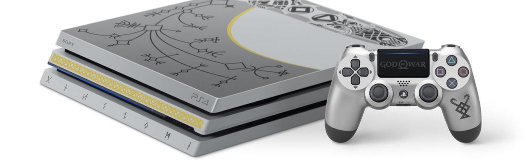PS4 Pro de 1TB personalizada con Gos of War