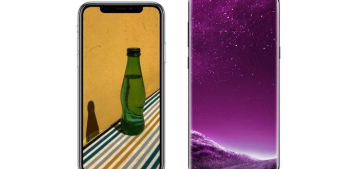 Diferencias entre el Samsung Galaxy S9 y el iPhone X