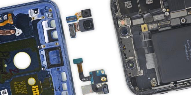 El Samsung Galaxy S9 y S9 plus es difícil de reparar según iFixit