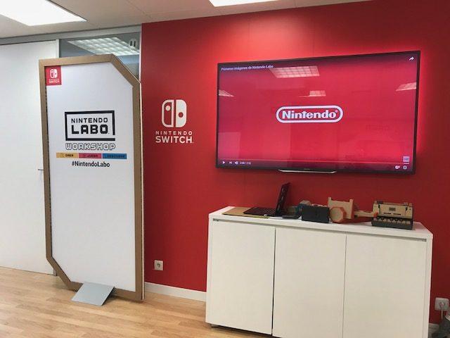 Nintendo Labo: así montamos el antenauta de cartón