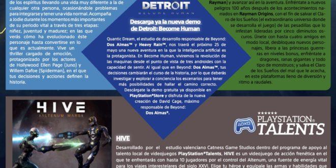 Los juegos gratis en mayo del 2018 en PlayStation Plus. Beyond: Dos Almas y Rayman Legends