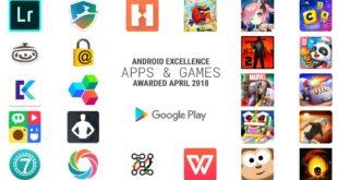 Las mejores aplicaciones para Android de abril del 2018 según Google Android Excelence