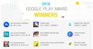 Premios Google Play Awards 2018a las mejores aplicaciones y juegos del año para Android