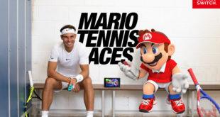 Mario Tennis Aces llegará a Nintendo Switch el 22 de junio de 2018