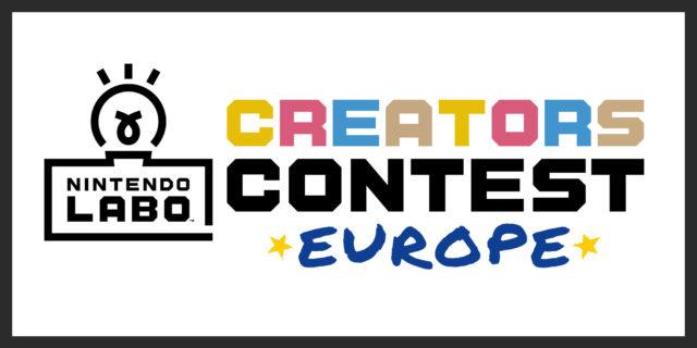 Nintendo anuncia un concurso europeo de creación con Nintendo Labo