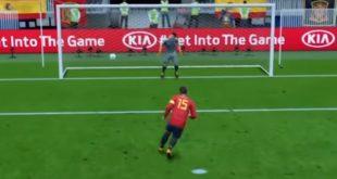 ¿Quien ganará en el partido España y Rusia de octavos de Mundial de Fútbol?, según FIFA 18