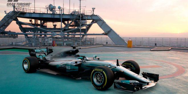 Compite con el monoplaza de Lewis Hamilton con la actualización 1.23 de Gran Turismo Sport