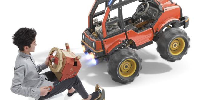 Conduce, navega y vuela con el nuevo kit de vehículos de Nintendo Labo para Nintendo Switch