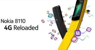 La reedición del Nokia 8810 en móvil banana con KaiOS, Whatsapp y 4G