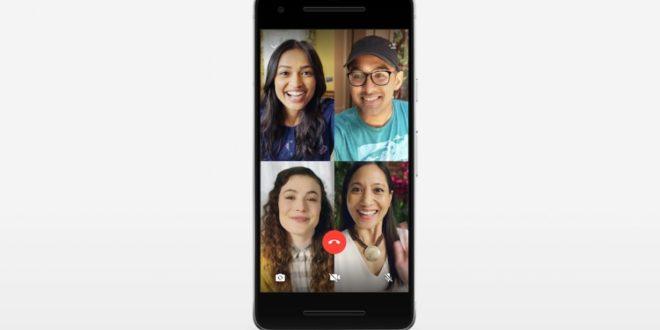 Whatsapp permite llamadas y videollamadas grupales con cuatro personas