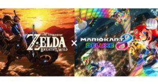 Nuevos elementos deThe Legend of Zelda: Breath of the Wildllegan aMario Kart 8 Deluxecon una nueva actualización gratuita, disponible hoy