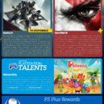 Destiny 2 y God of War III Remastered los juegos gratis a los suscriptores PlayStation Plus en Septiembre 2018