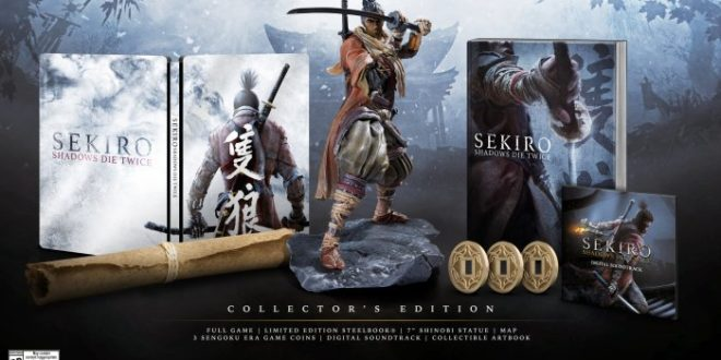 Sekiro: Shadows Die Twice disponible en 22 de marzo del 2019