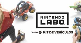 De pequeños inventores a pilotos de carreras con Nintendo Labo: Kit de vehículos