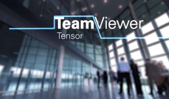 Ya está disponible TeamViewer Tensor, la nueva plataforma empresarial segura de conexión remota