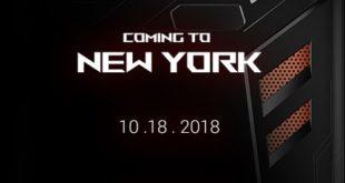 Asus anuncia un evento de su móvil gaming Asus ROG Phone para el 18 de octubre en Twitter