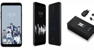 LG Electronics anuncia el LG Q7 Edición BTS