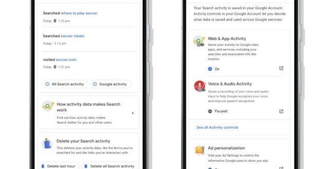 Google mejora la gestión de la privacidad