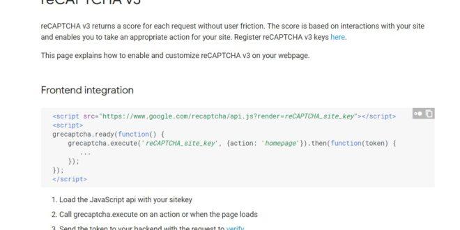 Llega la tercera versión de reCAPTCHA, el sistema creado por Google para identificar si un usuario es real